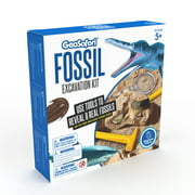 Educational Insights Geo Safari Fossil Excavation Kit: Easter Gift with 8 Real Fossils including Shark Tooth & More, Dinosaur Science Toy for 7+