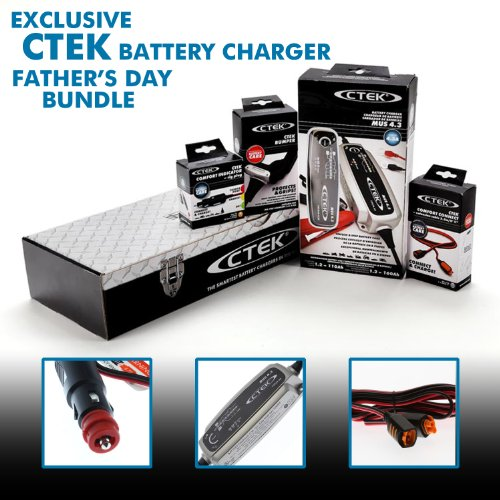 *SPECIAL EDITION* CTEK BATTERY CHARGER BUNDLE with EXTENS...