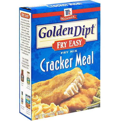 Golden Dipt Cracker Meal Seafood Fry Mix, 10 oz (Pack of 12)