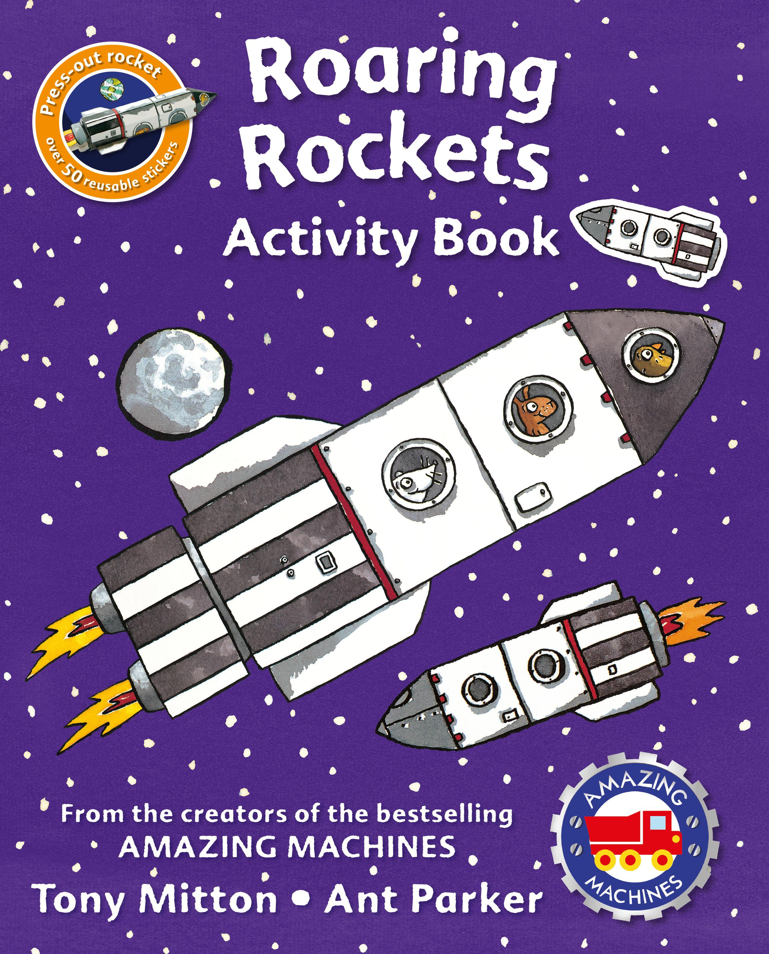 Amazing Machines Roaring Rockets Activity Book by Kingfisher