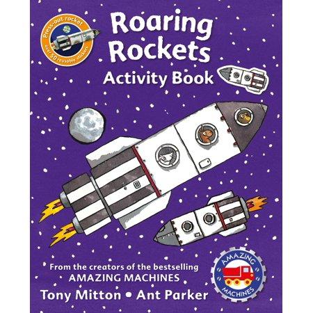 Amazing Machines Roaring Rockets Activity Book - Halloween Early Years Activities