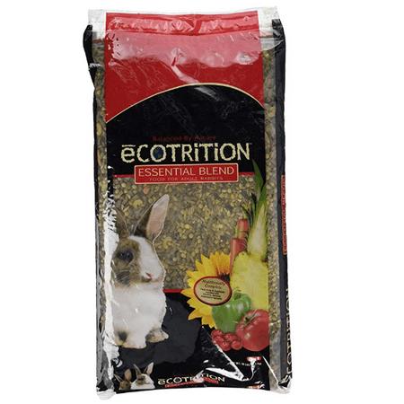 Ecotrition Essential Blend Rabbit Food, 10 pound bag (Ecotrition Essential Blend)