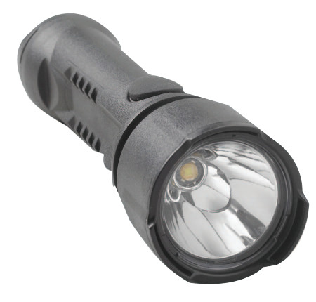 Razor LED Flashlights, 3 AA, 90 lumens, Black