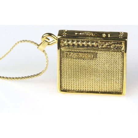Mesa Boogie Amp Necklace in Gold