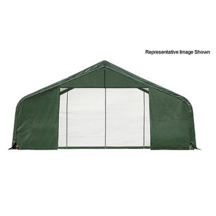 Click here to buy Peak Style Shelter 30x20x16 (Green Cover).