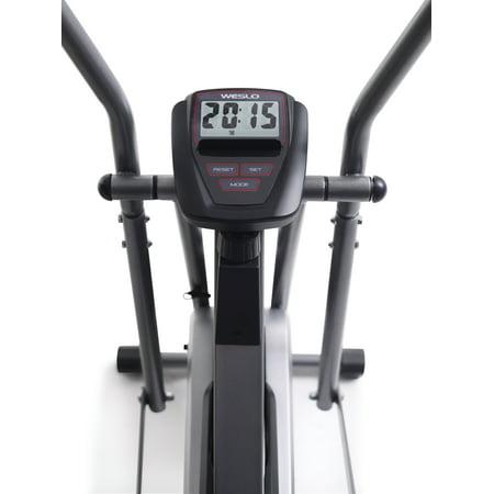 Weslo Cross Cycle Upright Exercise Bike with Padded Saddle