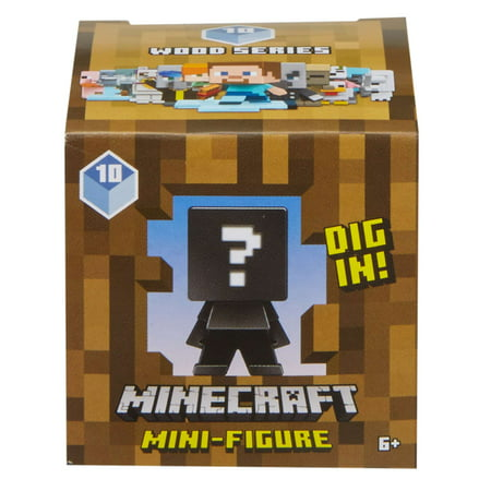 Minecraft Build-A-Mini Blind Pack Figure (Styles May Vary) - Minecraft Craft Ideas For Kids