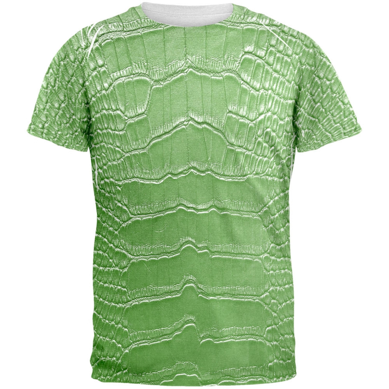 Halloween Alligator Costume All Over Adult T-Shirt