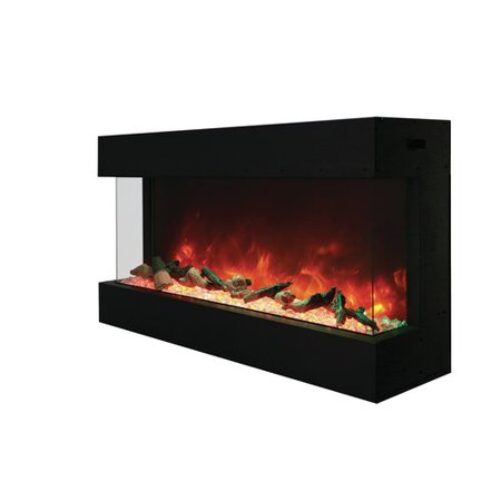 Pleasant Orren Ellis Attridge 3 Sided Wall Mounted Electric Fireplace Wiring 101 Vihapipaaccommodationcom