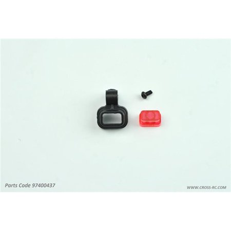 Cross RC CZR97400437 Tail Lamp Bracket for SR4 Rock Crawlers (Talia Cross Handles)