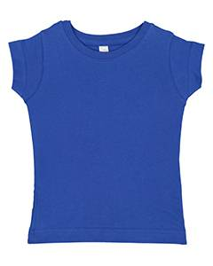 Rabbit Skins Toddler Girls' Fine Jersey T-Shirt