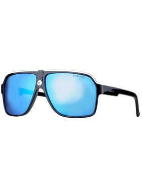 90d67b80dbd Product Image Carrera 33 S 8V6 Z0 Black Crystal Grey Blue Mirror Unisex  Aviator Sunglasses