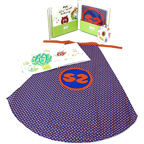 Ze Super Zeros Book, Cape and CD Gift Set