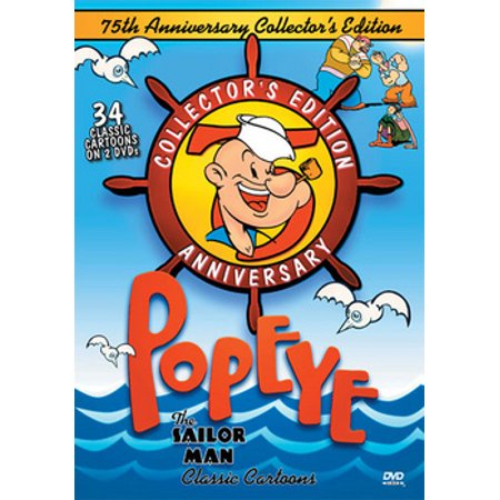 Popeye the Sailor Man Classic Cartoons (DVD)