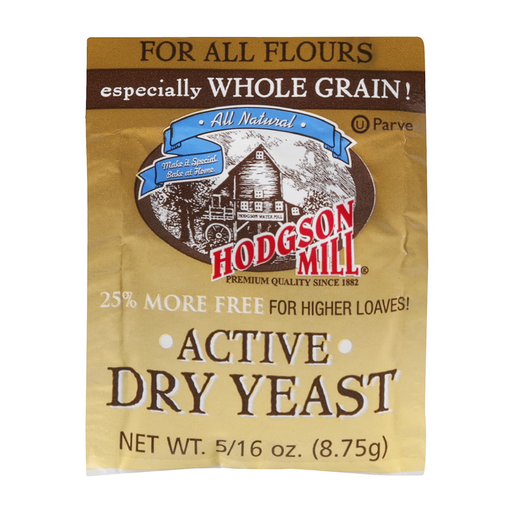 Hodgson Mill Active Dry Yeast For All Flours, 0.309 OZ