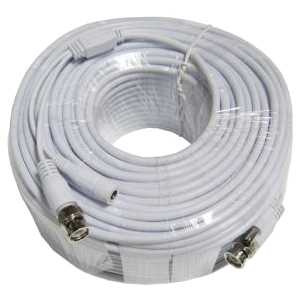 Q-SEE SHIELDED VIDEO PWR CABLE 200FT BNC W/ M/F CONNECTORS