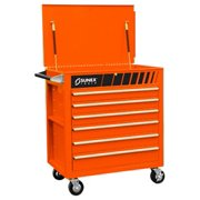 Sunex Tools 8057O Premium Full Drawer Service Cart - Hugger Orange