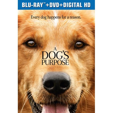 A Dog's Purpose (Blu-ray + DVD + Digital Copy)