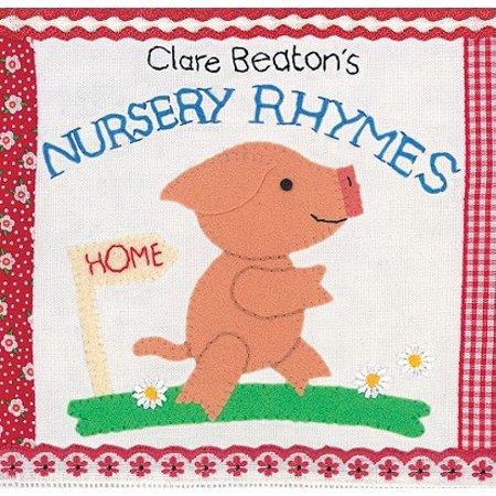 Clare Beatons Nursery Rhymes (Board Book)