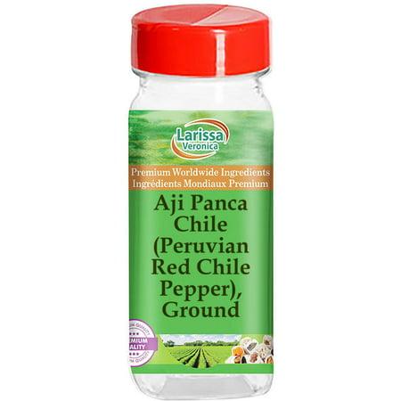Aji Panca Chile (Peruvian Red Chile Pepper), Ground (1 oz, ZIN: 526848)