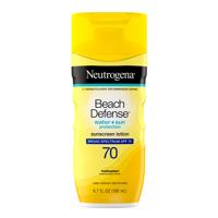 Neutrogena Beach Defense Sunscreen Lotion with SPF 70, 6.7 oz