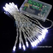 Battery operated string lights perfect holiday 50 led string light battery operated white aloadofball Image collections