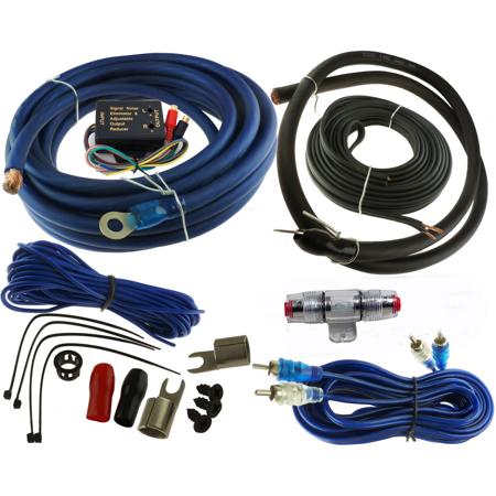voodoo 4 gauge car amplifier installation wiring wire kit. Black Bedroom Furniture Sets. Home Design Ideas