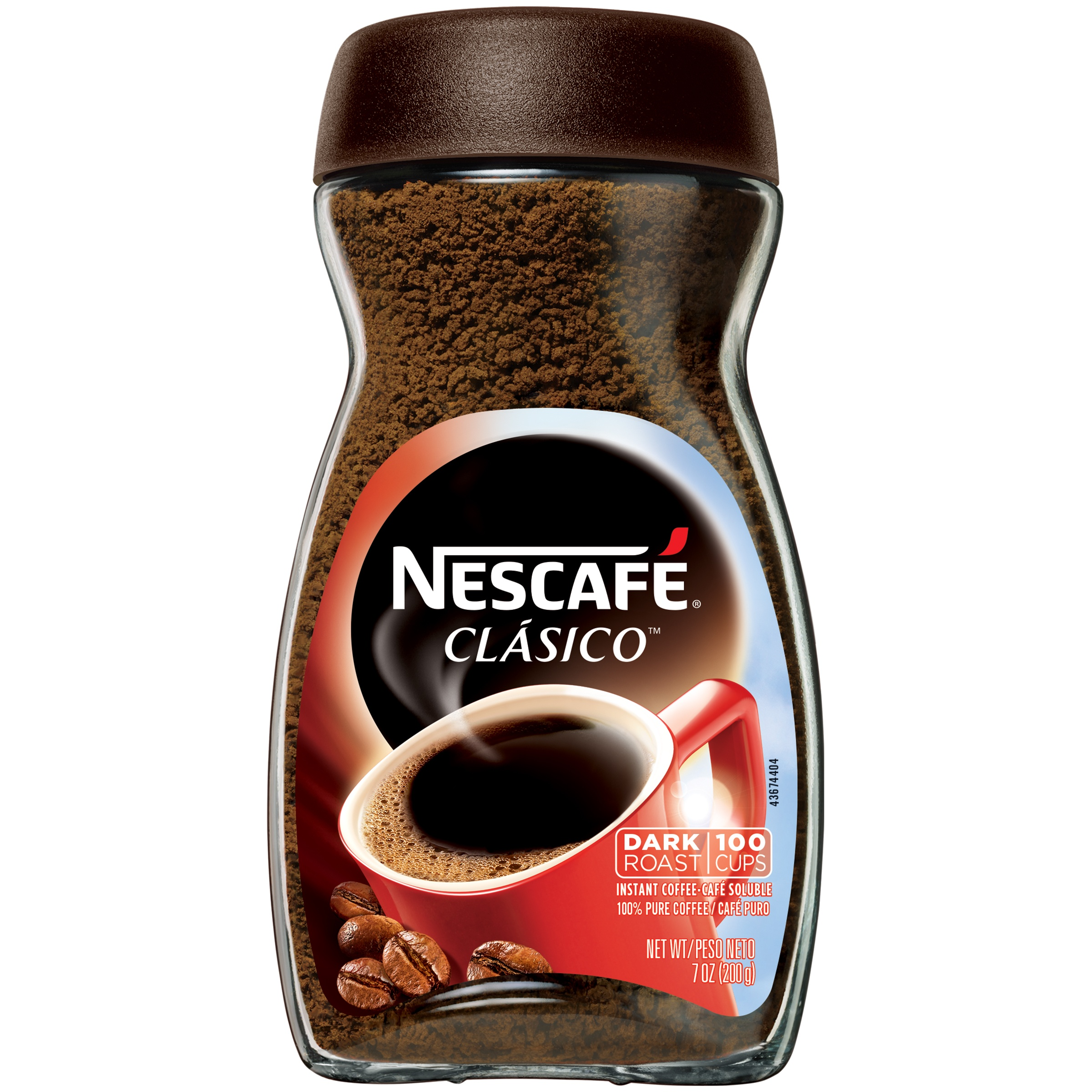 NESCAFE CLASICO Instant Coffee 7 oz. Jar