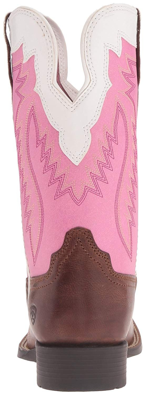 Ariat Girls' Buscadero Cowgirl Boot Square Toe - 10018618C