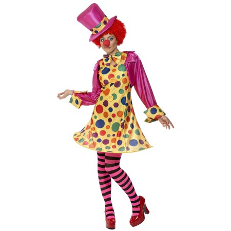 Plus Size Clown Halloween Costumes (Smiffys Womens Circus Clown Halloween Costume Plus Size)