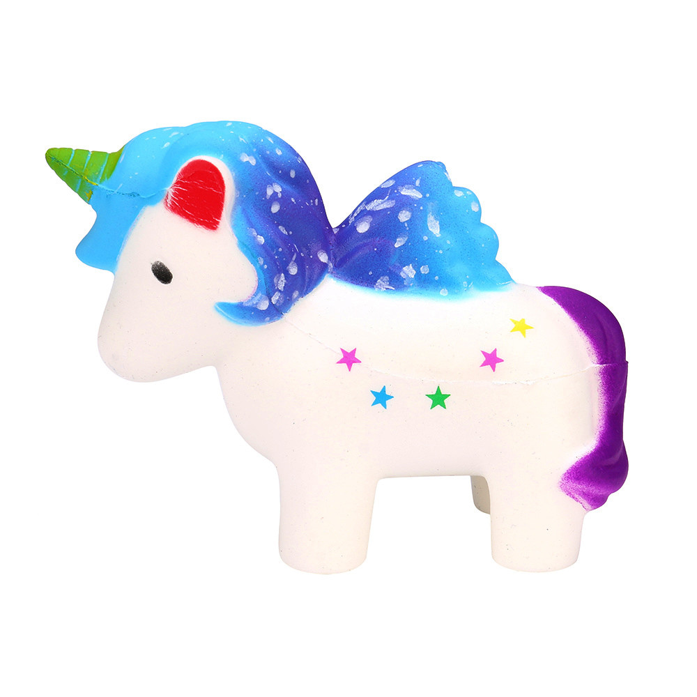 Mosunx Dreamlike Unicorn Squishy Scented Squishy Slow Rising Squeeze Toys Collection