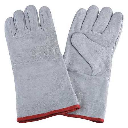 "CONDOR Welding Gloves,Stick,14"",XL,PR 2MGC1"