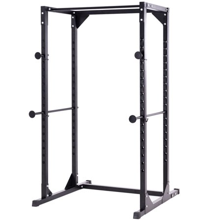 Costway Adjustable Dumbbell Rack Cage Chin up Squat Stand Fitness Strength Traning
