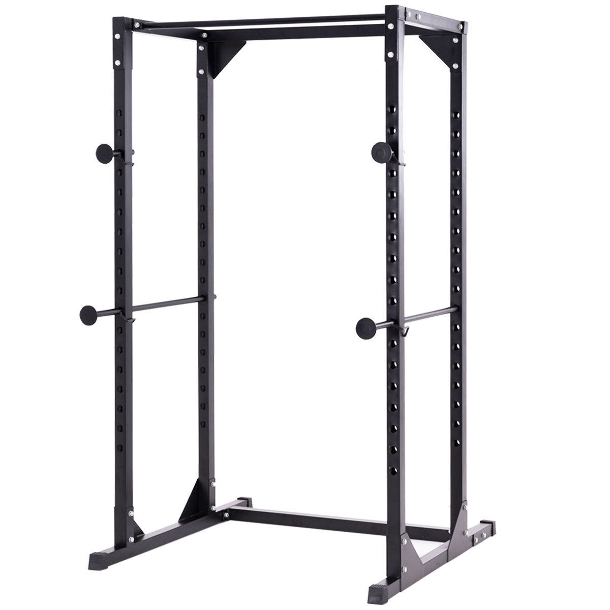 Costway Adjustable Dumbbell Rack Cage Chin up Squat Stand Fitness Strength Traning Gym