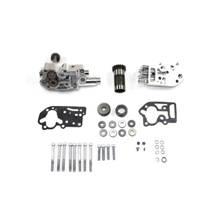 Polished Oil Pump Assembly with Breather,for Harley