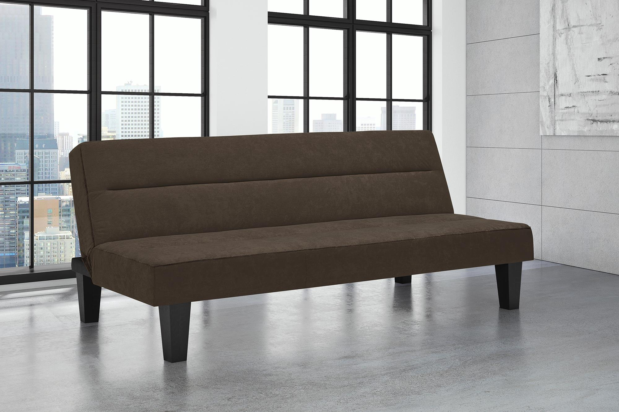 Superior DHP Kebo Futon Couch With Microfiber Cover, Multiple Colors   Walmart.com