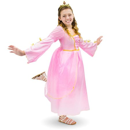 Pink Princess Childrens Costume, Age 3-4](Childrens Princess Costume)