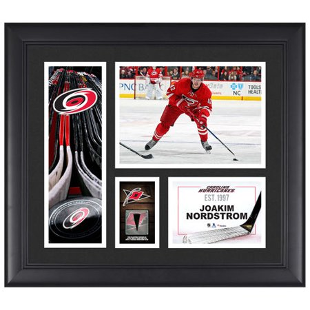 Joakim Nordstrom Carolina Hurricanes Framed 15   X 17   Player Collage With A Piece Of Game Used Puck   No Size