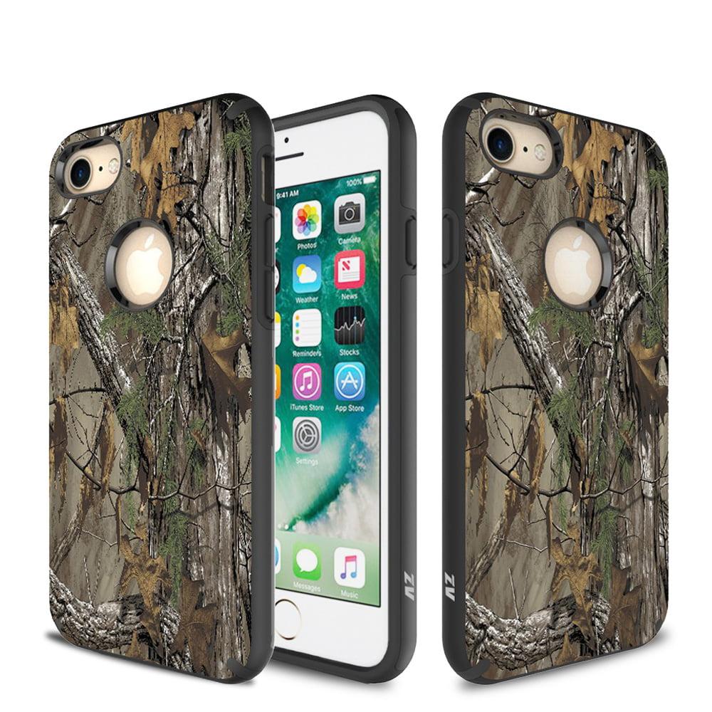 iPhone 7 / 7 Plus Case, ZV SLEEK HYBRID Design Case -Heavy Duty Protective Cover
