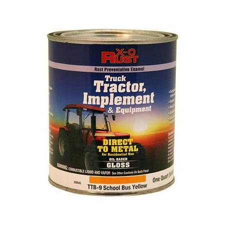 Tractor Implement Paint - True Value Mfg TTB9-QT Rust-Preventative Paint & Primer, Direct to Metal, Truck, Tractor, Implement & Equipment, School