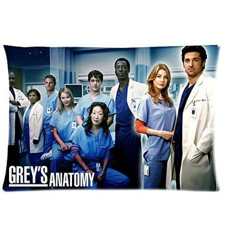 DEYOU High TV Show Grey\'S Anatomy Fans Pillowcase Pillow Case Cover ...