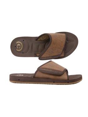 cobian men's gts draino slide sandal chocolate 10 m us