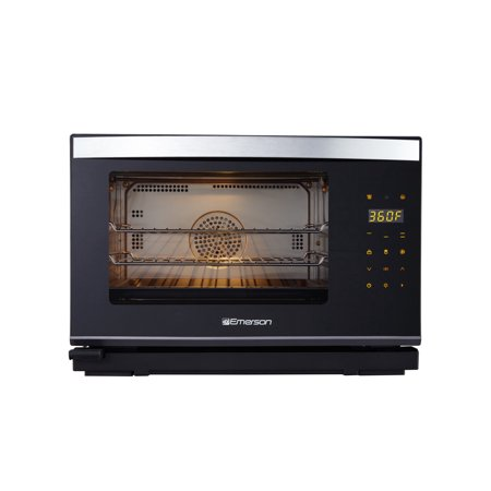 Emerson 0.9 cu. ft. Steam Grill Oven With Convection Technology, ER101005