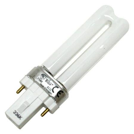 G E LIGHTING 5-Watt Warm White T4 Biax Ecolux CFL Bulb 97551
