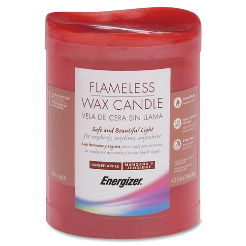 EVEREADY BATTERY Flameless Wax Candle