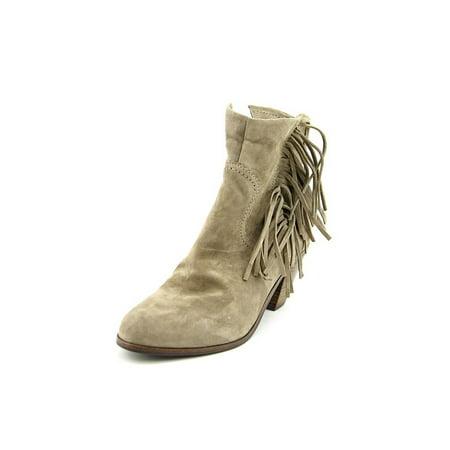bd05042cd55fd Sam Edelman - Womens Sam Edelman Louie Fringe Ankle Boots - Tan -  Walmart.com