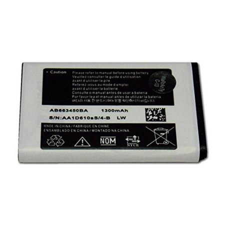 1021 Rugby - AB663450BA Samsung Rugby 2 II SGH-A847 Replacement Battery