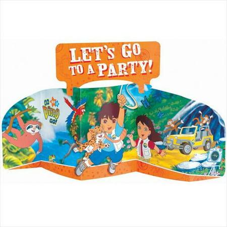 Go Diego Go! Stand-Up Centerpiece (1ct) (Go Diego Go Party Supplies)