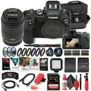 Canon EOS R6 Mirrorless Camera W/ 24-105mm f/4-7.1 Lens - Advanced Bundle