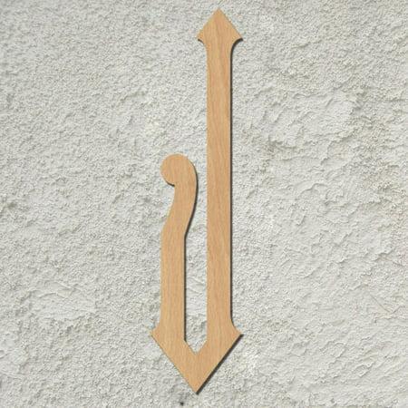20 Diamond Script Wood Mongram Single Letter Wall Décor J Instructions Below